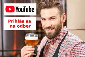 Youtube Male pivovary Footer